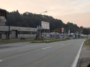 Gewerbegebiet am Ende der Graflinger Straße