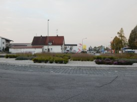 Kreisverkehr Graflinger Straße