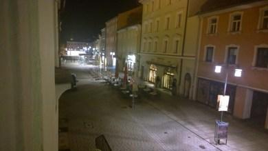 Blick vom Alten Rathaus in Richtung Oberer Stadtplatz