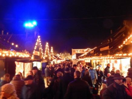 Viel Betrieb am Christkindlmarkt auch nach Weihnachten
