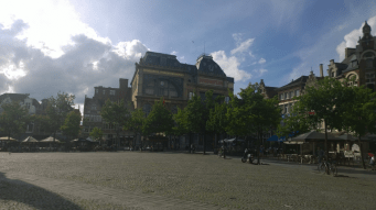 Gewerkschaftsgebäude in Gent