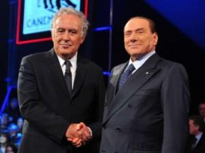 Santoro e Berlusconi