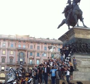 Gobbi in piazza del Duomo