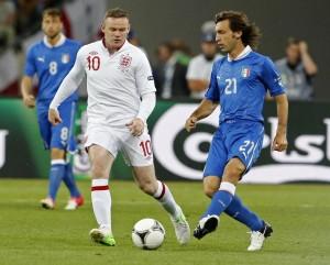 Euro 2012 - Inghilterra - Italia