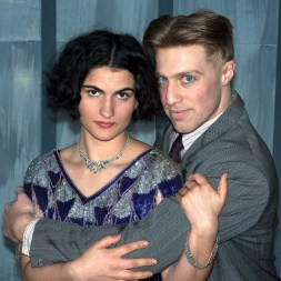 L to R - Emily Dywer as Zelda, Frankie Stornaiuolo as Scott