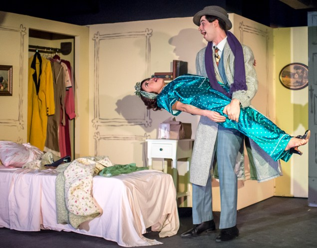 Marah Sotelo as Amalia Balash, Max Kligman as Georg Nowack