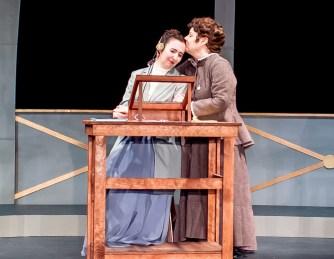 Isabelle Grimm as Henrietta Leavitt, Pamela Ciochetti as Williamina Fleming