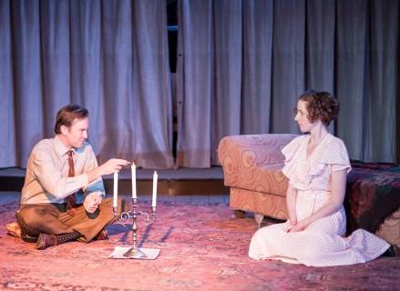 Jesse Lumb as Jim O'Connor, Carolyn Arnold as Laura Wingfield