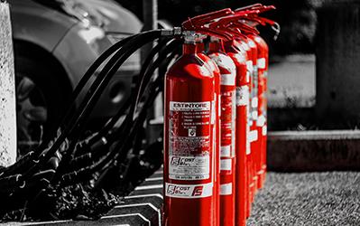 forniture antincendio e materiale pompieristico