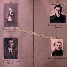 Marcus Max, Hirsch Gavrilă, Lodovic Celler, Anatol Creteanu Cresin