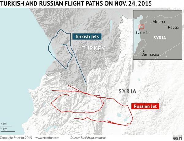 harta Siria Turcia avion Rusia