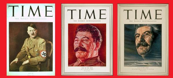 Hitler, Stalin, persoana anului Time