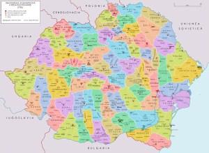 Harta României Mari