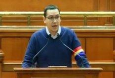 Victor Ponta cu banderolă