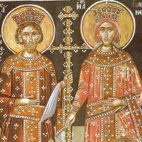 De Sfinții Împărați Constantin și Elena