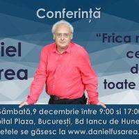 Conferință despre frică a psihologului Daniel Fusărea