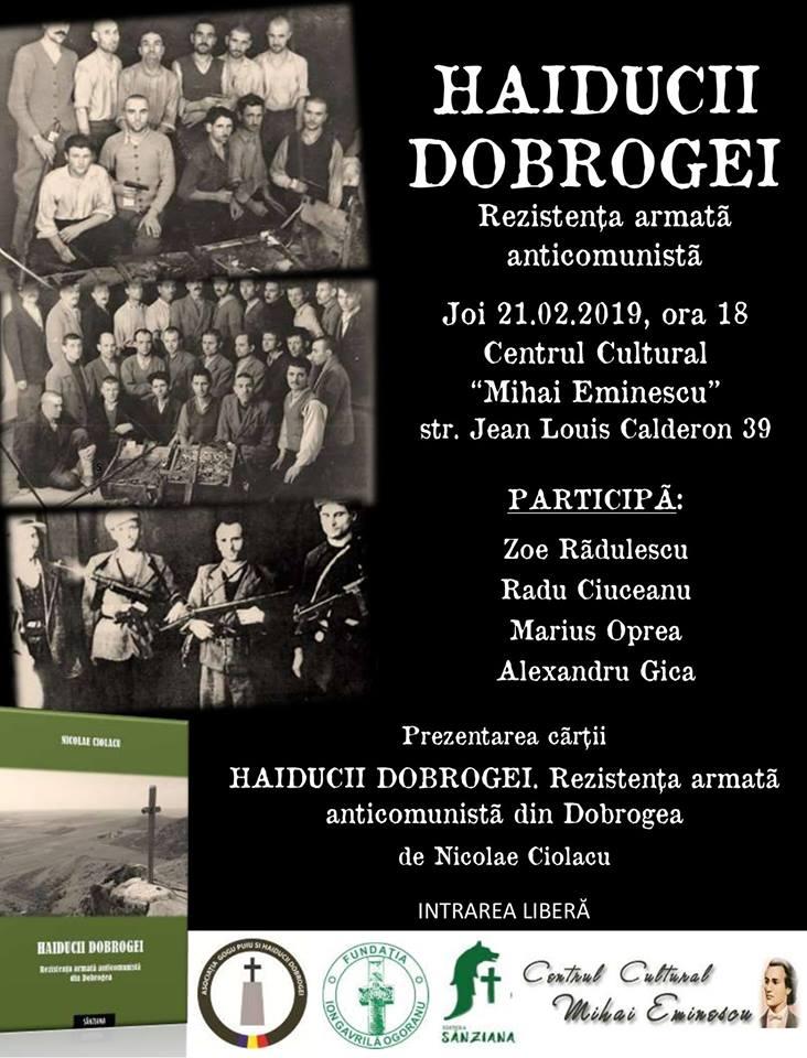 """În jurul unei mărturii: """"Haiducii Dobrogei"""", de Nicolae Ciolacu"""