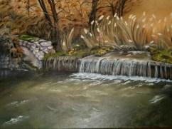 La briglia sul fiume Rosso
