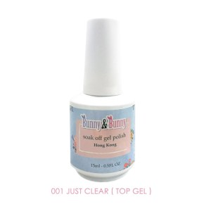 Bunny & Bunny Soak off gel Polish - Top Gel