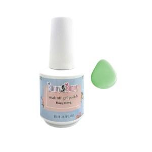 Bunny & Bunny Soak off gel Polish - Mint Candy