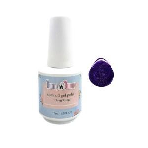 Bunny & Bunny Soak off gel Polish - Noble Purple