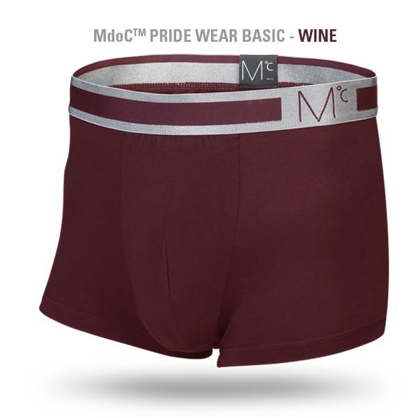 Mdoc - PRIDE WEAR BASIC + WRAPHAND (Wine) (M size)