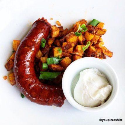 Sausage and hash