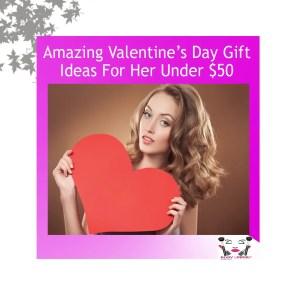 Best Valentine's Day Gift For Her Under $50