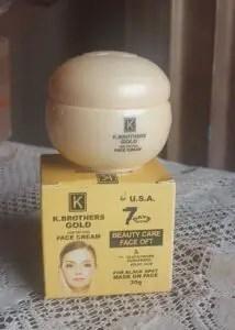 K Brothers-Facial-Gold-cream