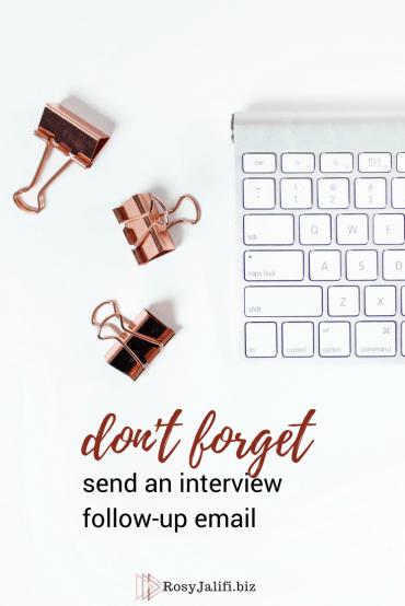 job-application- follow-up email