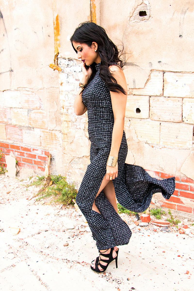 Side-Slit Dress + Pattern Review - Rosy | Peña