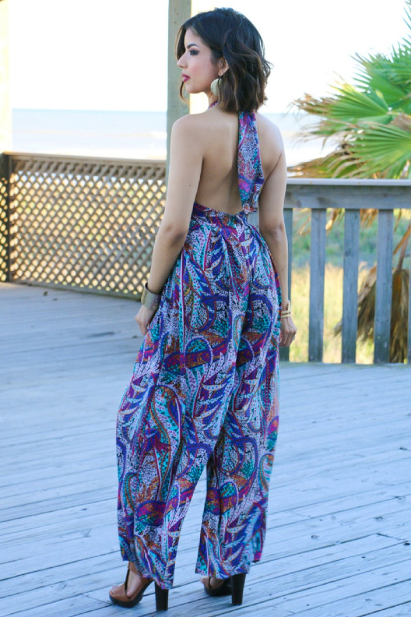 Bohemian Summer Jumpsuit - ROSY | PEÑA