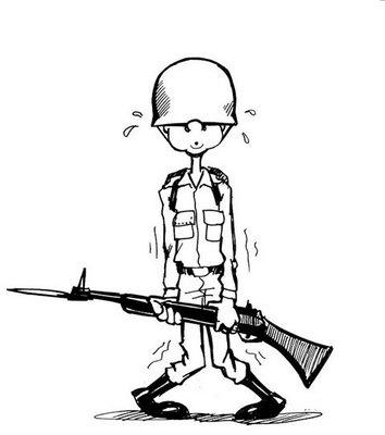 Desenhos Para Imprimir E Colorir Dia Do Soldado 25 De