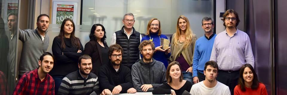 El Premio ha sido otorgado por decisión unánime de la Redacción de la publicación TOT Sant Cugat