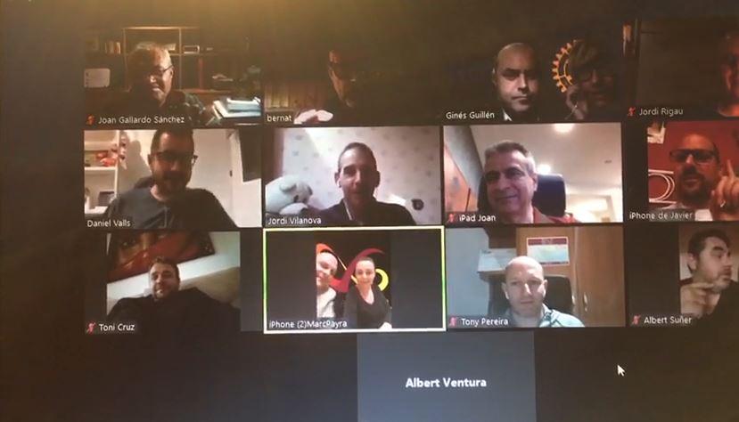 Reunión telemática RC de Girona