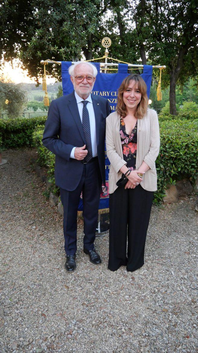 Pietro Lombardi e Agnese Pini