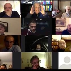 Paolo Santoro al caminetto online del Rotary Firenze Nord