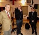 Il vicepresidente Carlo Paoli con i Presidenti di Piombino Antonio Bruschi e di Follonica Roberto Pacenti