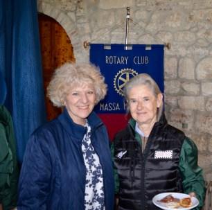 17 Rotary COAST TO COAST - Costanza Fiorio da Palermo e Costanza Soprana, Presidente del Club di MM