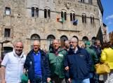 8b 8 Rotary COAST TO COAST Vincent Mazzone e Rodolfo Torri con altri partecipanti