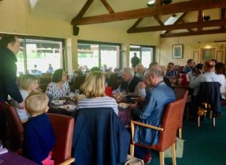 26 pranzo di commiato al Golf Club