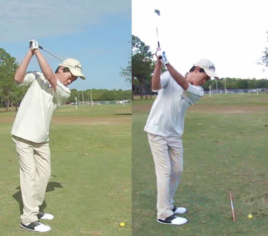 how to build the perfect backswing