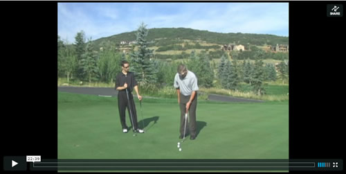 how to putt instruction vido