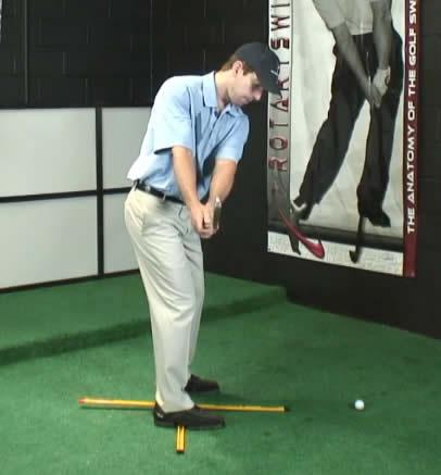 perfect golf swing takeaway