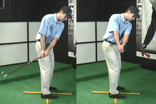 4 Square Drill For An On Plane Golf Takeaway And Backswing