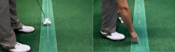 How can the Putting Mat improve your putting? It's all about the feedback!