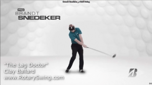 Brandt Snedecker showing off that release that allows him to get so much speed in his golf swing.