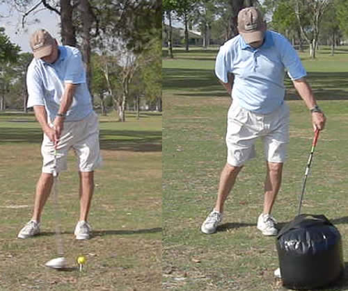 too much lag in golf swing