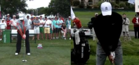 golf swing strong grip