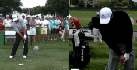 golf grip and impact